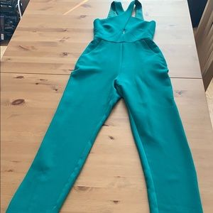 BCBG Green Jumpsuit
